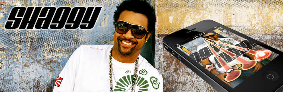 Get Shaggy's awesome new single Sugarcane on TTR3 and TTR4 © Tap Tap Revenge and Shaggy of Shaggy's great new feel good Summer in Kingston album