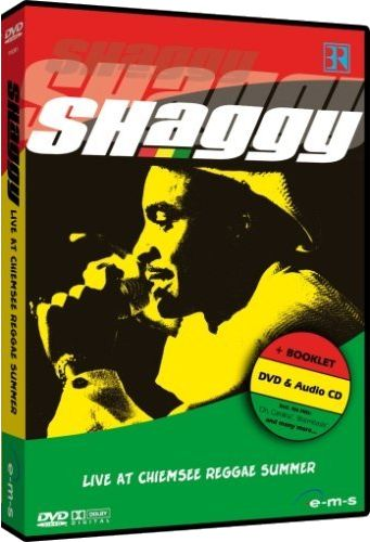 Shaggy and crew Live at Chiemsee Reggae Summer Festival DVD CD front cover image