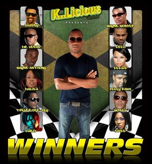 Winners Riddim produced by Tony CD Kelly for K..Licious Music riddim cover featuring Shaggy and Ce'Cile Can You Make Me Can U Mek Me Wayne Wonder Mr Vegas ZJ Liquid Delly Ranx Notch Trevor Off-Key Esco Spice Malica Wayne Anthony