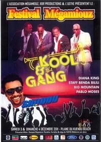Shaggy Diana King Kool and the Gang Festival Megamiouz Noumea New Caledonia December 2011
