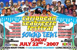 Shaggy Elephant Man Buju Banton Supa G Mime Sea Breeze Festival