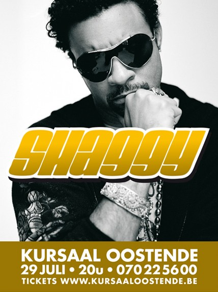 Win tickets to Shaggy's concert in Kursaal Oostende! Flyer