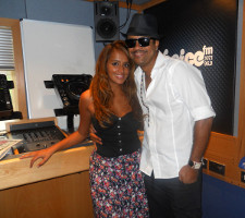 Max and Shaggy at the Choice FM Breakfast show in London UK interview