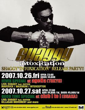 shaggy_japan_intoxication_album_release