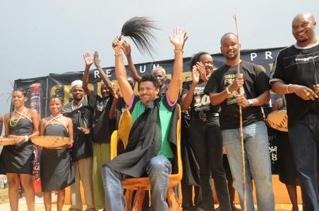 Shaggy was coronated chief and ambassador of the Sukuma people in Tanzania Bujora Sukuma Museum