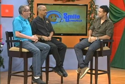 Simon Crosskill and Neville Bell interview Shaggy live at Smile Jamaica on TVJ January 6, 2012 pre Shaggy and Friends concert interview