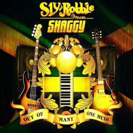 Shaggy new 2013 album Out of Many One Music produced by Sly and Robbie smash hit album cover off the hook single of Shaggy's brand new 2013 album
