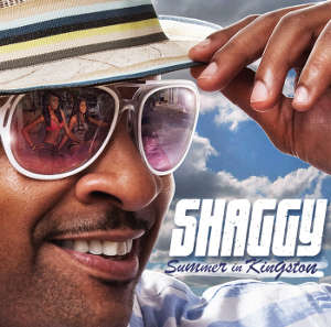 Shaggy's Summer in Kingston album cover new off the chain album to be released on July 19!