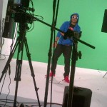 Shaggy at the Girls Just Wanna Have Fun video shoot photo