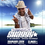 Shaggy concerto at the Teatro Caupolican in Santiago Chile May 21 2012 flyer