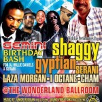 Shaggy, Gyptian, Serani, Laza Morgan, I-Octane and Cham at Wonderland Ballroom (formerly known as Club Lido) in Revere, Massachusetts on June 15