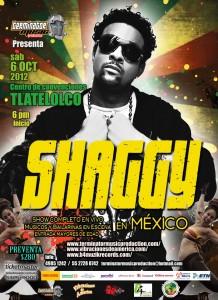 Shaggy live concerto Centro de Convenciones Tlatelolco Mexico City Octobre 6