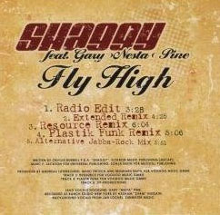 Shaggy featuring Gary Nesta Pine Fly High single back cover