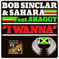 Bob Sinclar & Sahara feat. Shaggy I Wanna official single cover
