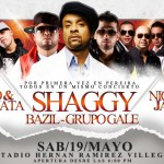 Shaggy at the Estadio Hernan Ramirez Villegas in Pereira Colombia May 19 2012