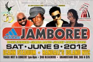 Adidas Jamboree Randall's Island New York City featuring Shaggy, Shabba Ranks, Richie Stephens and Fayne-Ann Lyons